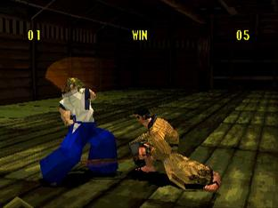 Test Bushido Blade PlayStation - Screenshot 3