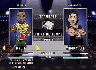 Test MTV Celebrity Deathmatch PlayStation - Screenshot 1