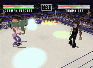 Test MTV Celebrity Deathmatch PlayStation -