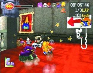 Chocobo Racing PlayStation
