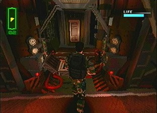 Test Chase The Express PlayStation - Screenshot 2
