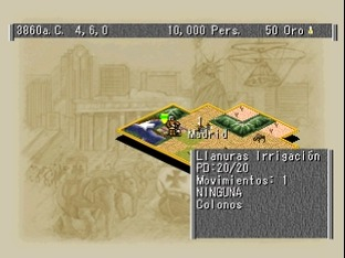 Civilization II PlayStation