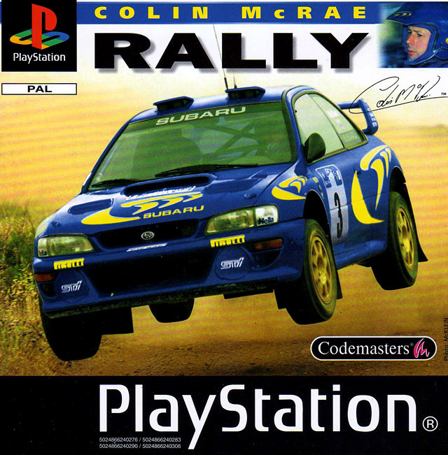colin mcrae rally sur playstation. Black Bedroom Furniture Sets. Home Design Ideas