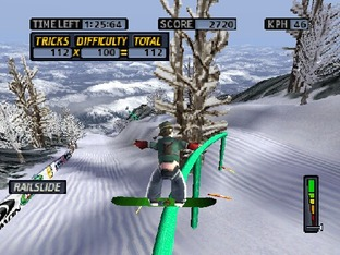 Test Cool Boarders 4 PlayStation - Screenshot 13