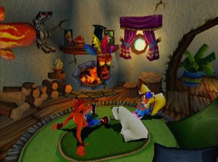 Crash Bandicoot 3 : Warped PS1 - Screenshot 6