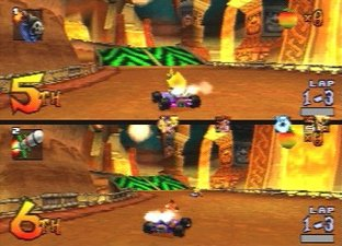 Crash Team Racing PS1 - Screenshot 11