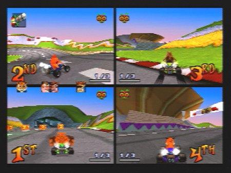 File Data: Download Crash Tag Team Racing For Ps2