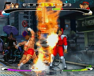 Test Capcom Vs SNK Pro PlayStation - Screenshot 1