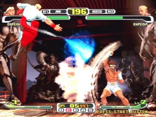 Test Capcom Vs SNK Pro PlayStation - Screenshot 2