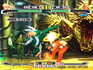 Capcom vs. SNK : Millennium Fight 2000 Pro PlayStation