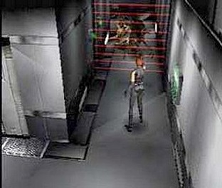 Test Dino Crisis PlayStation - Screenshot 1