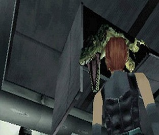 Test Dino Crisis PlayStation - Screenshot 2