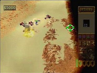Dune 2000 PlayStation