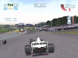 Test F1 Championship Saison 2000 PlayStation - Screenshot 2