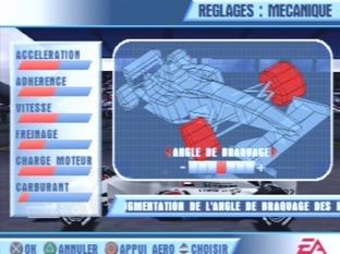 Test F1 Championship Saison 2000 PlayStation - Screenshot 3