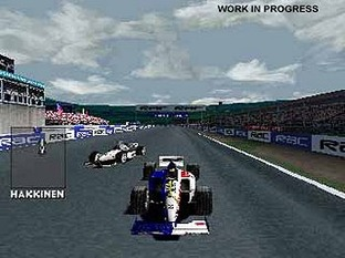 Test F1 Racing Championship PlayStation - Screenshot 2