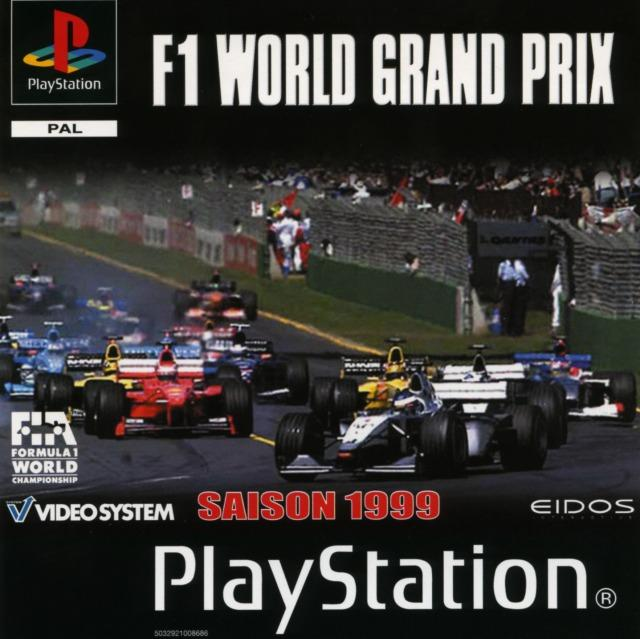 f1 world grand prix sur playstation. Black Bedroom Furniture Sets. Home Design Ideas