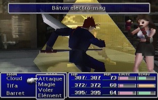 Final Fantasy VII PS1 - Screenshot 86