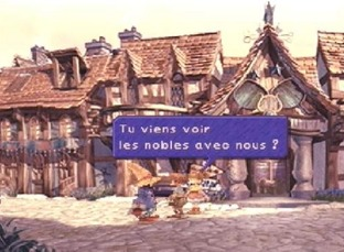 Test Final Fantasy IX PlayStation - Screenshot 9