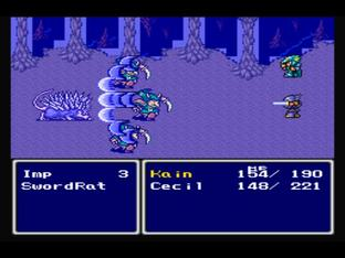 Test Final Fantasy IV PlayStation - Screenshot 47