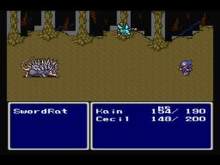 Test Final Fantasy IV PlayStation - Screenshot 57