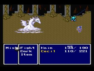 Test Final Fantasy IV PlayStation - Screenshot 58