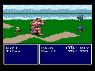 Test Final Fantasy IV PlayStation - Screenshot 59
