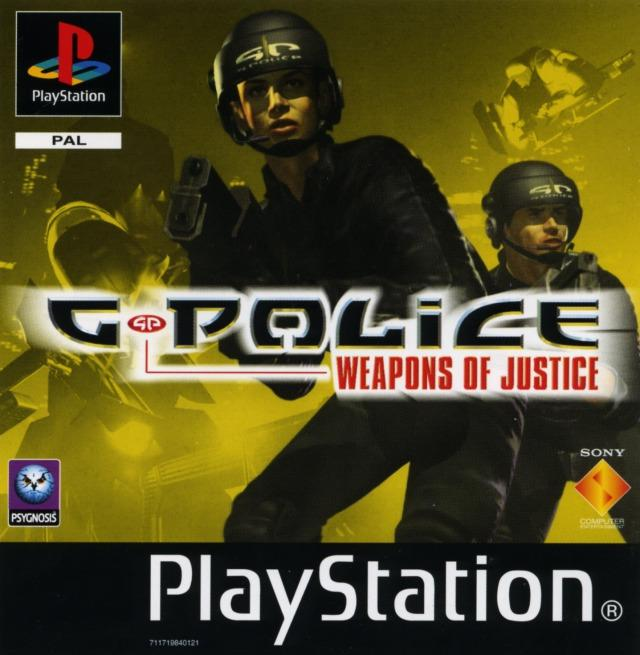 g police weapons of justice sur playstation. Black Bedroom Furniture Sets. Home Design Ideas