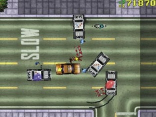 Grand Theft Auto : London 1969 PS1 - Screenshot 3