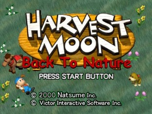 Harvest Moon : Back to Nature PlayStation