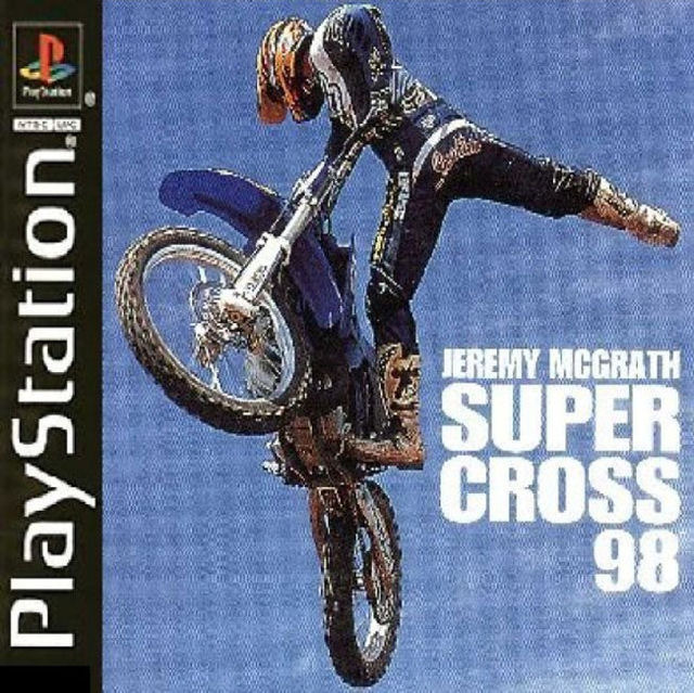jeuxvideo.com Jeremy McGrath Supercross 98 - PlayStation Image 1 sur 1
