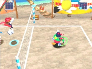 Test Klonoa Beach Volleyball PlayStation - Screenshot 1
