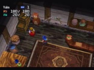Test Legend Of Legaia PlayStation - Screenshot 5