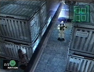 Test Metal Gear Solid PlayStation - Screenshot 2