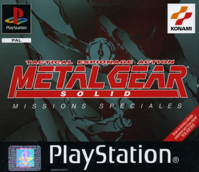 Metal Gear Solid : Missions Spéciales Sur PlayStation