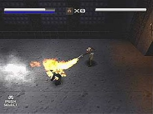 Test Mortal Kombat Special Forces PlayStation - Screenshot 1
