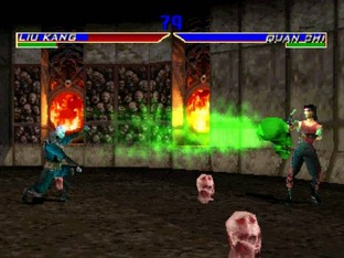 Mortal Kombat 4 PlayStation