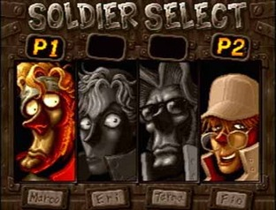 Test Metal Slug X PlayStation - Screenshot 5