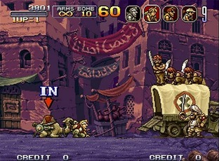 Test Metal Slug X PlayStation - Screenshot 6