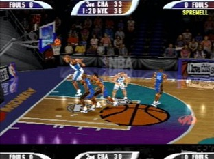 Test NBA Hoopz PlayStation - Screenshot 6