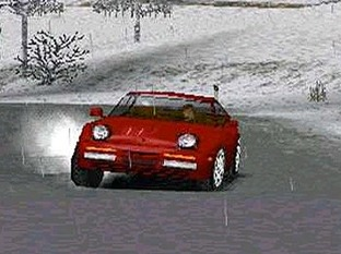 Test Need For Speed : Porsche 2000 PlayStation - Screenshot 1
