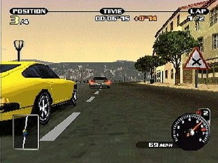 Test Need For Speed : Porsche 2000 PlayStation - Screenshot 6