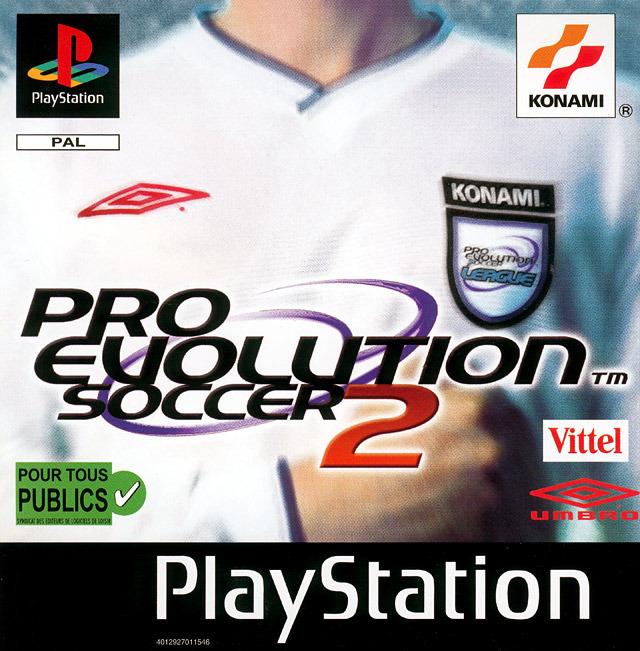 Pro Evolution Soccer 2 sur PlayStation - jeuxvideo com