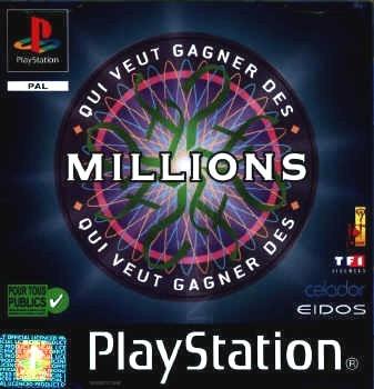 jeuxvideo.com Qui Veut Gagner des Millions - PlayStation Image 1 sur