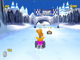 Test Rascal Racers PlayStation - Screenshot 1