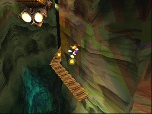 Test Rayman 2 PlayStation - Screenshot 9