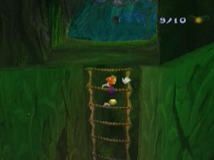 Test Rayman 2 PlayStation - Screenshot 19