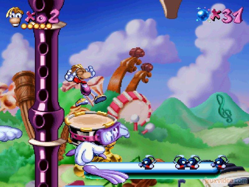 Rayman - la 2D se porte toujours bien