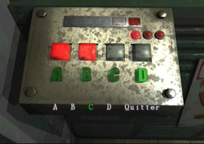 Resident Evil 3.. il y avait des énigmes...