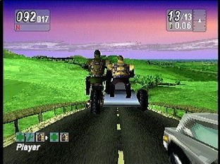 Test Road Rash : Jailbreak PlayStation - Screenshot 2